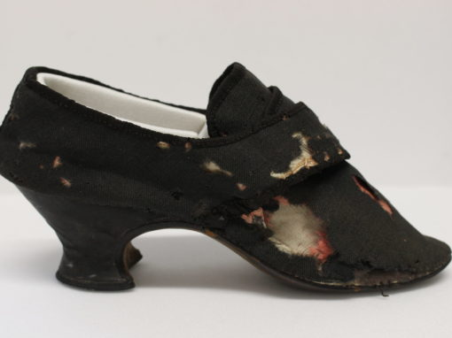 Conservation of Historic Shoes for Northampton Museum