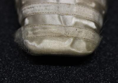 Detail of detached repair netting