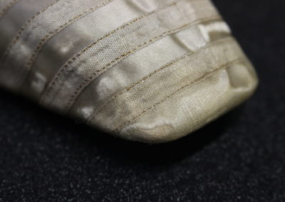 Detail of repaired netting