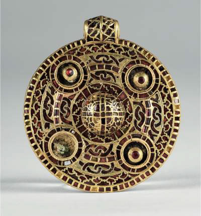 Conservation of Anglo Saxon Pendant