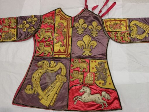 Conservation of an 18th Century Tabard